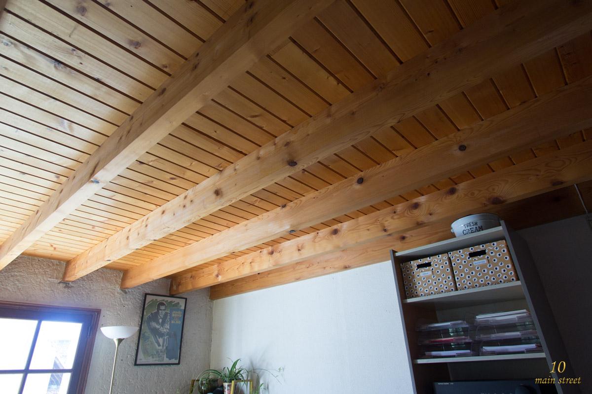 des nouvelles du bureau peinture de l 39 escalier de la mezzanine. Black Bedroom Furniture Sets. Home Design Ideas