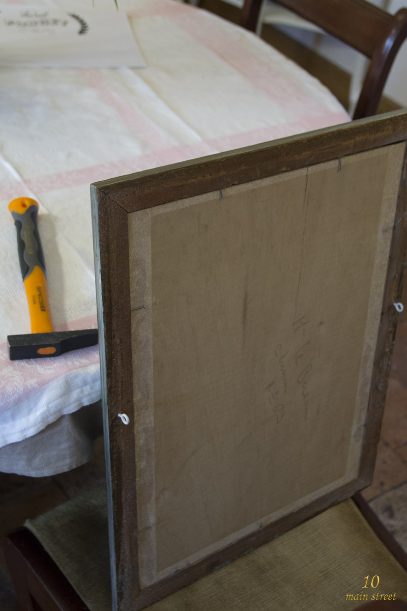 fabriquer un tableau noir avec de la peinture action. Black Bedroom Furniture Sets. Home Design Ideas